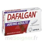 DAFALGAN ADULTES 600 mg, suppositoire à Saint-Médard-en-Jalles