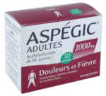 ASPEGIC ADULTES 1000 mg, poudre pour solution buvable en sachet-dose à Saint-Médard-en-Jalles