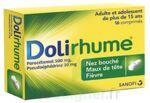 DOLIRHUME PARACETAMOL ET PSEUDOEPHEDRINE 500 mg/30 mg, comprimé à Saint-Médard-en-Jalles