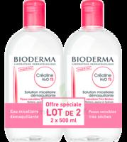 Crealine Ts H2o Solution Micellaire Sans Parfum Nettoyante Apaisante 2fl/500ml à Saint-Médard-en-Jalles
