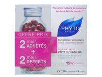 Phytophanere Force Croissance Volume Complement Alimentaire Phyto 120 Capsules X 2 à Saint-Médard-en-Jalles