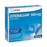 Efferalgan 500 Mg Glé En Sachet Sach/16 à Saint-Médard-en-Jalles