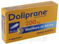 Doliprane 200 Mg Suppositoires 2plq/5 (10) à Saint-Médard-en-Jalles