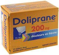 Doliprane 200 Mg Poudre Pour Solution Buvable En Sachet-dose B/12 à Saint-Médard-en-Jalles