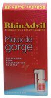 Rhinadvil Maux De Gorge Tixocortol/chlorhexidine, Suspension Pour Pulvérisation Buccale à Saint-Médard-en-Jalles