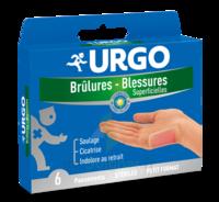 URGO BRULURES-BLESSURES x 6 à Saint-Médard-en-Jalles