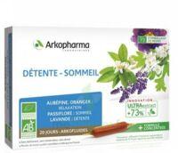Arkofluide Bio Ultraextract Solution Buvable Détente Sommeil 20 Ampoules/10ml à Saint-Médard-en-Jalles