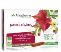 Arkofluide Bio Ultraextract Solution Buvable Jambes Légères 20 Ampoules/10ml à Saint-Médard-en-Jalles