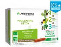 Arkofluide Bio Ultraextract Coffret Programme Détox 3x10 Ampoules/10ml à Saint-Médard-en-Jalles