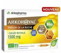Arkoroyal Gelée Royale Bio Sans Sucre 1500mg Solution Buvable 20 Ampoules/10ml à Saint-Médard-en-Jalles