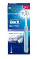 Oral B Professional Care 700 Brosse Dents White And Clean B/1 à Saint-Médard-en-Jalles