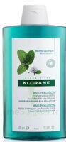 Klorane Menthe Aquatique Shampooing Détox 400ml à Saint-Médard-en-Jalles
