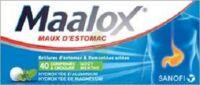 Maalox Hydroxyde D'aluminium/hydroxyde De Magnesium 400 Mg/400 Mg Cpr à Croquer Maux D'estomac Plq/40 à Saint-Médard-en-Jalles