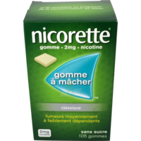 Nicorette 2 Mg Gom à Mâcher Médic Sans Sucre Menthe Fraîche Plq/105gom à Saint-Médard-en-Jalles
