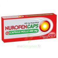 Nurofencaps 400 Mg Caps Molle Plq/10 à Saint-Médard-en-Jalles