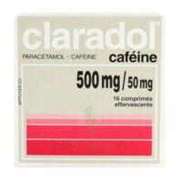 Claradol Cafeine 500 Mg/50 Mg, Comprimé Effervescent à Saint-Médard-en-Jalles