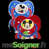 Dodie Disney Sucette Anatomique Silicone +6mois Mickey Lot/2 à Saint-Médard-en-Jalles