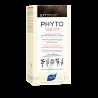 Phytocolor Kit Coloration Permanente 6.77 Marron Clair Cappuccino à Saint-Médard-en-Jalles