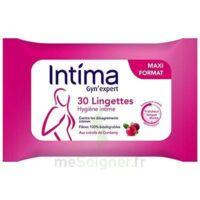 Intima Gyn'expert Lingettes Cranberry Paquet/30 à Saint-Médard-en-Jalles