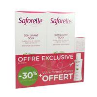 Saforelle Solution Soin Lavant Doux 2*500ml+100ml à Saint-Médard-en-Jalles
