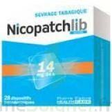 Nicopatchlib 14 Mg/24 H Dispositifs Transdermiques B/28 à Saint-Médard-en-Jalles