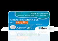 Magnesium/vitamine B6 Mylan 48 Mg/5 Mg, Comprimé Pelliculé à Saint-Médard-en-Jalles