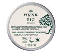 Nuxe Bio Déodorant Baume Fraîcheur 24h Peaux Sensibles Pot/50g à Saint-Médard-en-Jalles